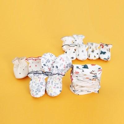 조아뜨 신생아 아기 손싸개 발싸개 순면 사계절 선물