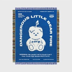 LITTLE FIRE COVY-BLUE(직조카페트)