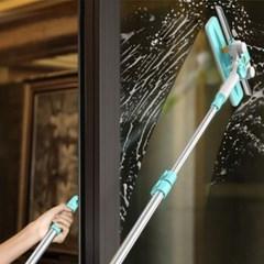 집에서도 쉽고 가벼운 창문 청소기