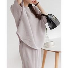 여성 트레이닝복 운동복 세트 오프미 플리츠세트