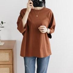 여성 여자 가을 데일리 긴팔 티셔츠 간절기 게트미