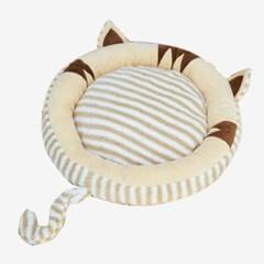 OH 스트라이프 고양이 방석