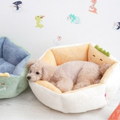 애견하우스 양면공룡베드 귀엽고 편한 강아지집