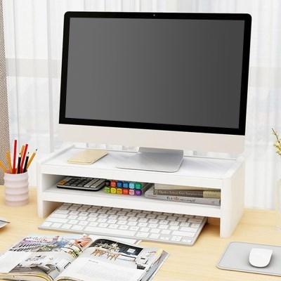 ABS 모니터 받침대 사무실 컴퓨터 선반 노트북 받침 거치대