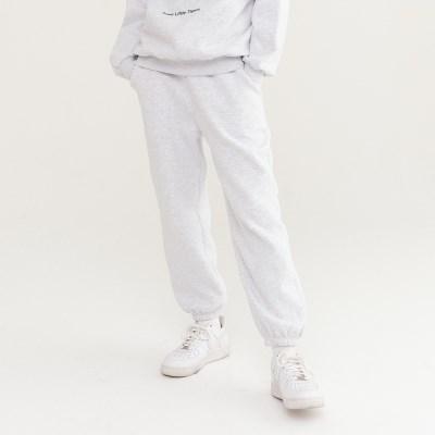 TLT JOGGER SWEAT PANTS WHITE MELANGE