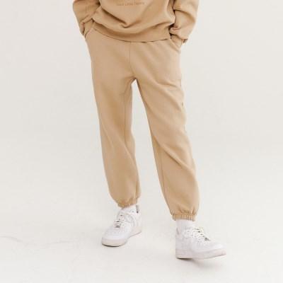 TLT JOGGER SWEAT PANTS BEIGE