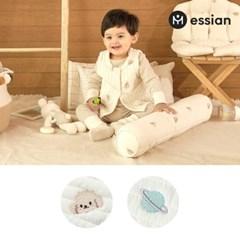 에시앙 모데즈 누빔 자수 아기 조끼 베스트 (디자인선택)