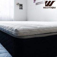 클라우드 이모션 듀얼메모리폼 침대토퍼(SS) 니트원단