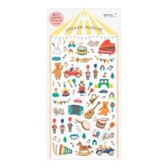 Sticker Marche - Toys