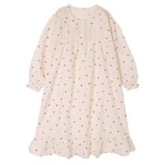 여아잠옷 쁘띠로즈 면 어린이면실내복 예쁜 공주드레스