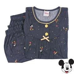 여자아이 디즈니파자마 미키달밤 순면긴팔실내복 아동수면잠옷
