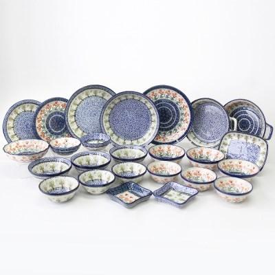 폴란드그릇 아티스티나 예쁜그릇 6인조홈세트1744/560