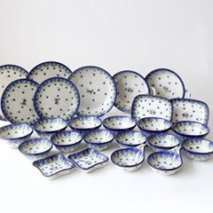 폴란드그릇 아티스티나 예쁜그릇 6인조홈세트2509