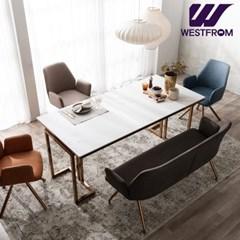 르노블 6인 포세린 세라믹 식탁(의자3,벤치1) / 전국착불