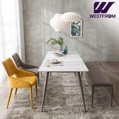 라클리 이지클린 4인 포세린 세라믹 식탁(의자2,벤치1) / 전국착불
