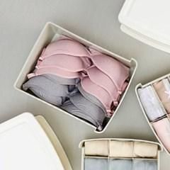 쏙쏙수납 서랍형 브래지어 정리함(아이보리) 다용도 속옷 보관