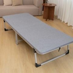 1인용 간이 보조 폴딩 베드 원룸 접이식 싱글 침대