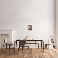 [스코나]워너빌 양면 세라믹 6인 식탁 세트(벤치형)