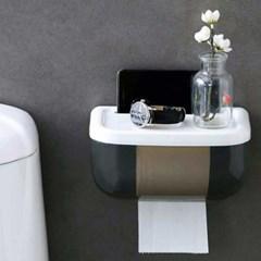 방수 선반 휴지걸이 무타공욕실선반 욕실소품 보관
