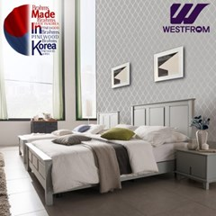 브람스G PINEWOOD 투매트리스 침대(퀸) F9 매트리스