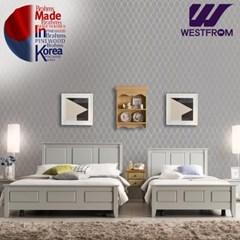 브람스G PINEWOOD 투매트리스 침대(퀸) F5 매트리스
