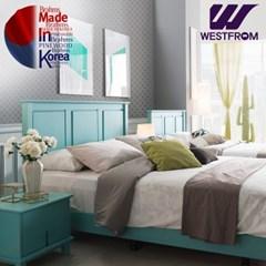 브람스M PINEWOOD 침대(퀸) + 파운데이션(하단) 매트리스