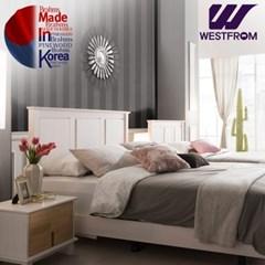 브람스W PINEWOOD 침대(퀸) + 파운데이션(하단) 매트리스
