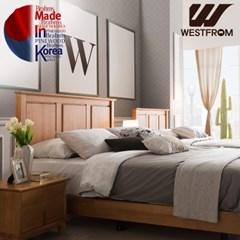브람스B PINEWOOD 침대(퀸) + 파운데이션(하단) 매트리스