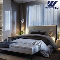 모던 엘레나 투매트리스 침대(퀸) F17 매트리스