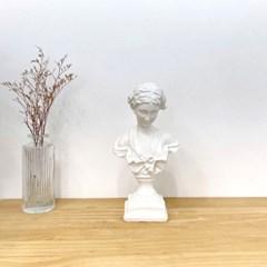 카페 감성 오브제 조각상 인테리어 엔틱 소녀 석고상