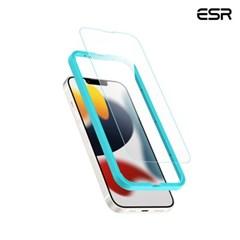 ESR 아이폰13/13 Pro 가이드 풀커버 강화유리 2팩