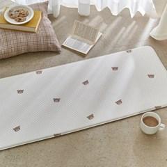 곰돌이 양면쿠션 주방매트