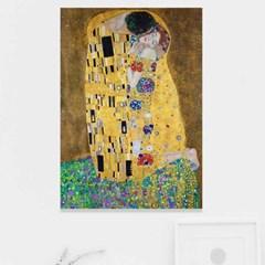 주문제작 액자 Gustav Klimt The Kiss 594x841x30mm