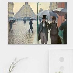 주문제작 액자 카유보트 Paris Street Rainy Day