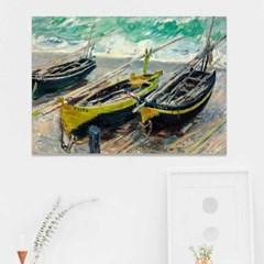 주문제작 액자 모네 Three Fishing Boats 841x594x30