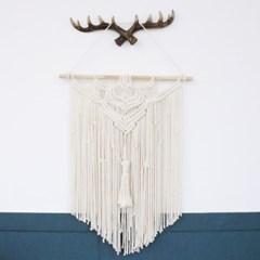 엘레 마크라메 거실 인테리어 벽장식 소품 월행잉 선물