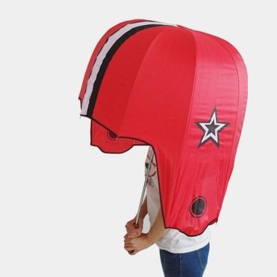 귀요미 헬멧 우산 장우산 야구장우산