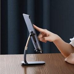 접이식 스마트폰 아이패드 받침대 각도조절 탁상형 t