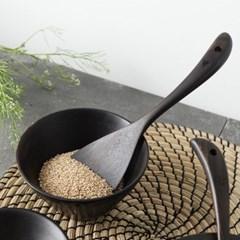 벨류세라믹 첼리나 흑단 원목 주걱 25cm