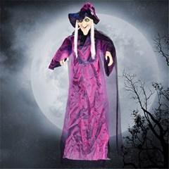 할로윈 장식 소리나는 마귀 할멈 마녀 인형 소품 유령 H