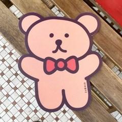 수바코클럽_곰돌이 마우스패드