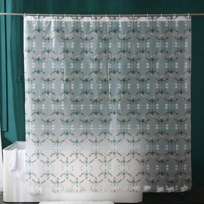 웨이블리 안티곰팡이 욕실 방수 샤워커튼