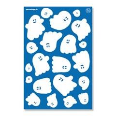 [퍼디] 유령 수영장 - 리무버블 방수 스티커