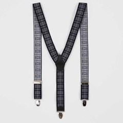 Classic 남여 suspenders 네이비그레이체크 CH1778832