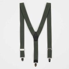 Classic 남여 suspenders 카키 CH1778826