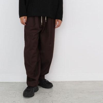 여름 남자 와이드 일자 넓은통 밴딩 스트링 포켓 팬츠