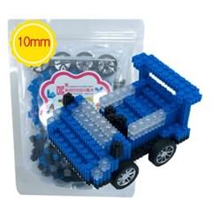 G78 디폼블럭10mm 파랑자동차 (3D입체)