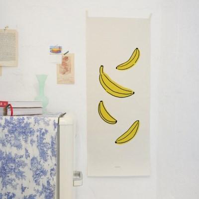 fruit/과일 D 세로형 패브릭 포스터 / 바란스커튼