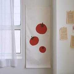 fruit/과일 C 세로형 패브릭 포스터 / 바란스커튼