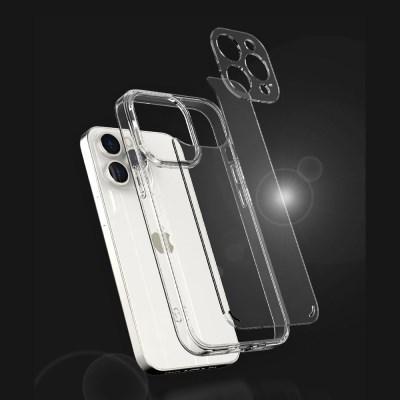 아이폰 13 시리즈 국내 생산 카메라 보호 클리어 울트라핏 케이스